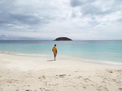Island in the Mediterranean (Paranoid from suffolk) Tags: family boy sea vacation sky holiday beach island spain sand mediterranean josh espana mallorca majorca magaluf palmanova 2016 balearics magalluf