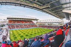 TFC Match at BMO Field (nickkernick) Tags: toronto canon spring stadium soccer fisheye crowds 15mm tfc canonphotography canon15mmf28 bmofield canon6d