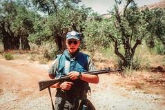 1992 UNIFIL - Patrolling the perimeter (Normann Photography) Tags: lebanon unitednations 1992 peacecorps peacekeepers unifil compactfilmcamera unitednationsinterimforceinlebanon fntjeneste unservice kontigent29
