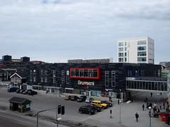 Arctic town square (narnejo) Tags: square greenland grnland nuuk brugseni