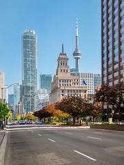 Downtown Toronto (dan sedran) Tags: street city urban toronto canada tourism lumix downtown cityscape streetphotography citystreet m43 mft gh4 torontotourism lumix1235 lumixstories