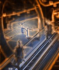 3 zero (duncan!) Tags: leica m262 lomography jupiter j3 lomo escalator down mirror zero people abstract extreme crystalcity underground railway