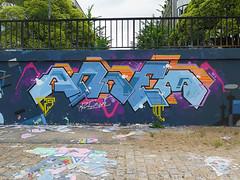 Nantes, Arnem (Zerbi Hancok) Tags: nantes nantesgraffiti nantesstreetart quaidelaloire quai graffiti graff streetart walls