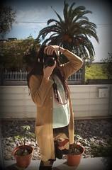 reflection (MariaAlmeida15) Tags: girl me selfie camera outside mirrow window nature peaceful place good amaizing
