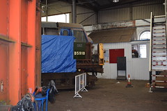 D5910 taking shape at Barrow Hill (colin9007) Tags: barrow hill roundhouse staveley baby deltic project d5910 english electric type 2 3 class 23 37 37372 37159 d6859 napier t929