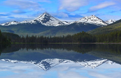 lang lake, cassiar (xtremepeaks) Tags: lang lake bc canada mountains cassiar reflections explore