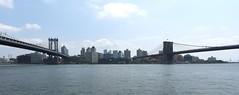 NYC - Manhattan Bridge and Brooklyn Bridge (ikimuled) Tags: manhattanbridge brooklynbridge nyc newyork newyorkcity manhattan