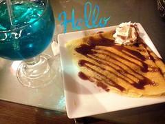 Hello! (mayavilla) Tags: hello crepa sodaitaliana mora azul delicia comida postre quierootraahoramismo bebida copa