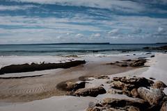finding a new way (serilium) Tags: australia ocean nature sand beach clouds outdoors rocks coast water