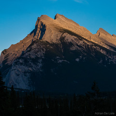 DSC_0128 (Adrian De Lisle) Tags: mountains banff banffnationalpark mountrundle