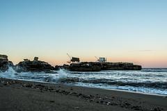 Pont du diable (vancoillie.filip) Tags: charentemaritime frankrijk pontdudiable saintpalaissurmer golven paalwoning plaatsen strand vissershutten zeezicht zonsopgang