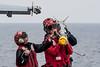 161013-N-OI810-673 (U.S. Pacific Fleet) Tags: ussronaldreagancvn76 invinciblespirit2016 fa18f vfa102 flightdeck aim9x csg5 ordnance