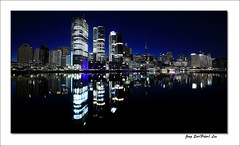 Sydney night (jongsoolee5610) Tags: sydneynight night sydney australia darlingharbour cityscape dawn reflection