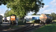 Emmerich, bediening Kao Chemicals (Ahrend01) Tags: bocholter eisenbahn deichstrase emmerich kao 295