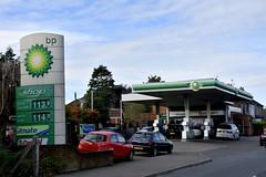 BP, Bangor County Down Northern Ireland. (EYBusman) Tags: bp gasoline filling service station garage bangor county down northern ireland british petroleum cost cutter eybusman petrol