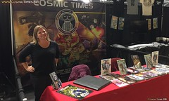 NYCC 2016 05 Cosmic Times Booth 943 (Cosmic Times) Tags: nycc nycc2016 cosmic times heidi hess