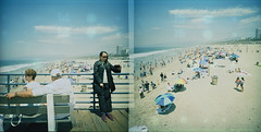 14 & 15 (edwardconde) Tags: edwardconde73 film lomolca120 lca crossedprocess lomography fujifilmprovia400 santamonica