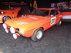 Ford Capri (911gt2rs) Tags: event meeting show coupe motorsport racing jgermeister youngtimer rs orange rallye