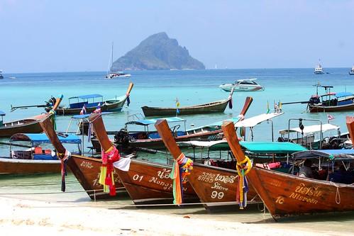 thailand longtailboat kohphiphiisland