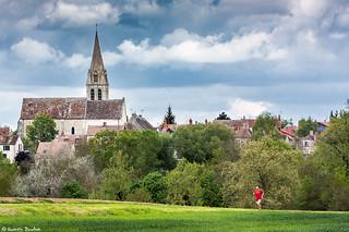 Eglise et village de Moisenay