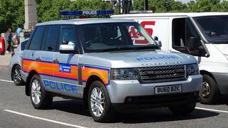 Metropolitan Police [11]   Special Escort Group 11   Range Rover TDV8   BU60 BZK