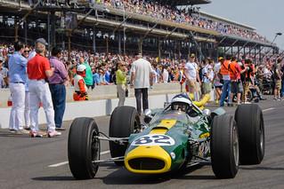 Jim Clark's 1965 Indy 500 Winning  Car