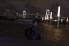 nobuko_PBN4872 (pbnewton) Tags: bridge japan tokyo rainbow buddha great hasetemple yuigahamabeach kotokuintemple enoshimaisland odaibaisland nikond4 rhetoricru enodentrain pbnewton kamakurahighschool sasukeshrine kamakuracoast