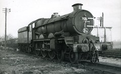 img130 (OldRailPics) Tags: castle british railways oswestry 7033 hartlebury