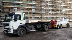 Volvo Rear Lifting 18 Ton Scaffold Lorry (JAMES2039) Tags: rescue truck volvo construction rear cardiff lorry breakdown heavy buildingsite tow towtruck recovery ask flatbed wrecker 6wheeler demountable rollonrolloff fm12 scafflod underlift heavyunderlift askrecovery ca02tow rearsuspend