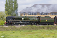 34052 at speed (70C Photography) Tags: uk canon football spring outdoor may surrey steam special southern 7d railways crystalpalace 2016 bulleid peasmarsh lineside jamescummins 34052 lorddowding jeremyhosking