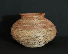Pine Needle Basket Oaxaca Mexico (Teyacapan) Tags: mexicana basket crafts mexican canasta weaving zapotec sansebastianriohondo