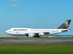 P2230539 (DShutter) Tags: plane airport heavymetal auckland british eddie ironmaiden 747400 edforceone