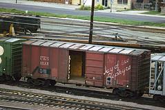 C&S Class XM-32E 1517 (Chuck Zeiler) Tags: cs class xm32e 1517 burlington railroad box car freight chz chuckzeiler boxcar