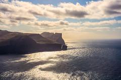 Dream Shaped (West Leigh) Tags: faroeislands sun ocean sea water cliff wanderlust wander explore experience dream discover landscape freedom fly free adventure atlantic sky travel waves