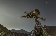 Saturn and Mars (maculapse) Tags: saturn mars telescope skywatcher astronomy observation planet planets mountains night nightscape nightsky stars landscape bayern bavaria alps maculapse astronomia