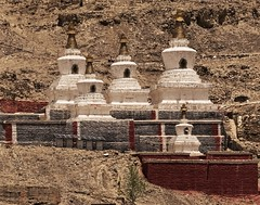 Ruins of Northern Sakya Monastery (joeng) Tags: tibet china sakya temple building sakyamonastery landscape monastery places chorten