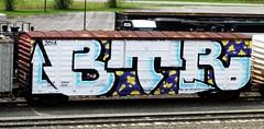 BTR (timetomakethepasta) Tags: btr freight train graffiti wholecar selkirk new york