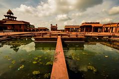 Fatehpur Sikri Palace Pool (PiccolaSayuri) Tags: fatehpursikri palace pool india rajasthan haryana uttarpradesh madhyapradesh delhi mandawa bikaner jaisalmer jodhpur udaipur jaipur agra fathpursikri gwalior orchha khajuraho varanasi incredibleindia hindu temples forts colours people faces