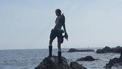 Shooting Lara Croft - Calanque du Mont Salva - Six Fours les Plages - 2016-08-11- P1500440 (styeb) Tags: shoot shooting lara croft 2016 aout 11 calanque mont salva sixfourslesplages t