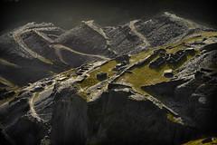 Dinorwic quarry light (pentlandpirate) Tags: dinorwic dinorwig slate quarry snowdonia northwales terraces levels inclines ruins gwynedd