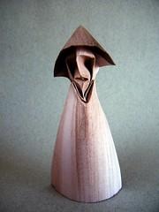 Minimal human figure (Rui.Roda) Tags: origami papiroflexia papierfalten minimal human figure figura humana