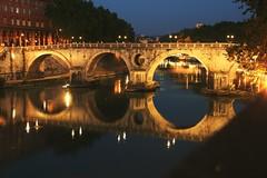 sisto (bob_52) Tags: roma ponte sisto tevere fiume notturno