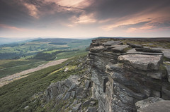 Stanage Edge (scott.hammond34) Tags: landscape peakdistrict stanageedge sunset cliff rock hills outdoor sky cloud scenic outdoors countryside