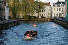 Beloved Brugge (Natali Antonovich) Tags: belovedbrugge brugge bruges oldtown belgium belgie belgique portrait oldtime oldworld oldest history tourists travelers spectators tradition lifestyle relaxation water canal architecture style romanticism boats boat harmony