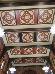UK - London - Open House London 2016 - King's College Chapel - Ceiling (JulesFoto) Tags: uk england london kingscollegechapel aldwych georgegilbertscott