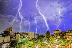 southern lightning! (George Spanoudakiss) Tags: nature night lights landscape light long landcape exposure outdoors outside fuji fujifilm sky lightning storm greece