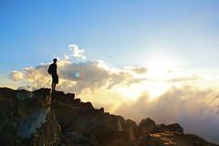 adventureman (webmastermama71) Tags: stonyman shenandoah shenandoahnationalpark shenandoahmountains summit mountains hiker hiking adventure man meditation peaceful looking out gazing sunset sunsetphotography sunsetting