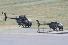 IMG_1224 (scobie56) Tags: boeing ah mh 6 little bird united states army 160th special operations aviation regiment airborne night stalkers fort campbell kentucky exercise jaded thunder 2016 black hawk down fame otterburn range live firing northumberland vehicle aircraft rotor blade outdoor