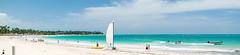 Panorama in Punta Cana (plinioleal) Tags: lunademiel puntacana panorama nikon photography ocean beach beachs sea blue sky water beautiful