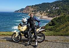 Visit the Pacific. (driver Photographer) Tags:   aprilia cagiva honda kawasaki husqvarna ktm simson suzuki yamaha ducati daytona buell motoguzzi triumph bmv driver motorcycle leathers dainese